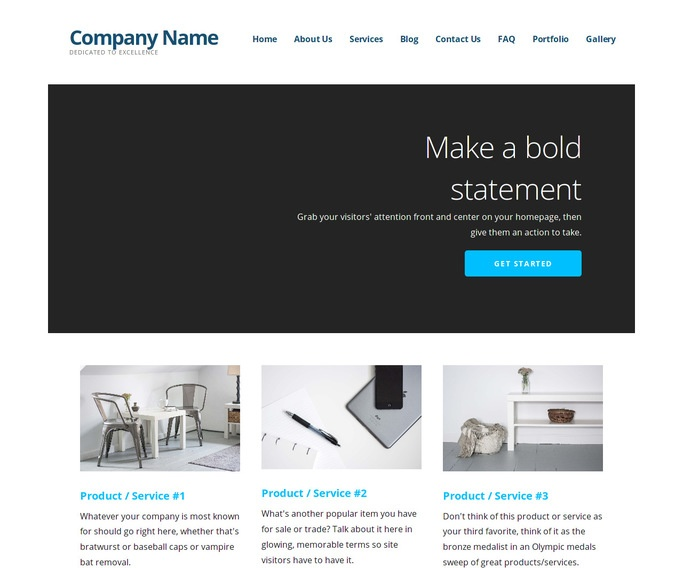 Ascension Awning Repair WordPress Theme