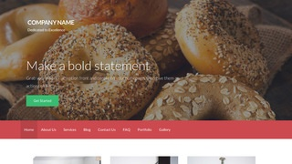 Activation Bagels WordPress Theme