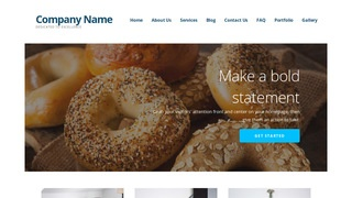 Ascension Bagels WordPress Theme