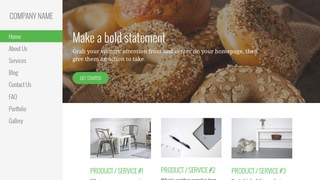 Escapade Bagels WordPress Theme