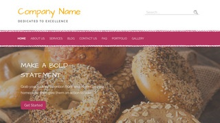 Scribbles Bagels WordPress Theme
