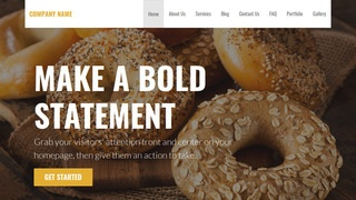 Stout Bagels WordPress Theme