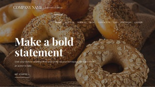 Velux Bagels WordPress Theme