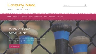 Scribbles Batting Range WordPress Theme