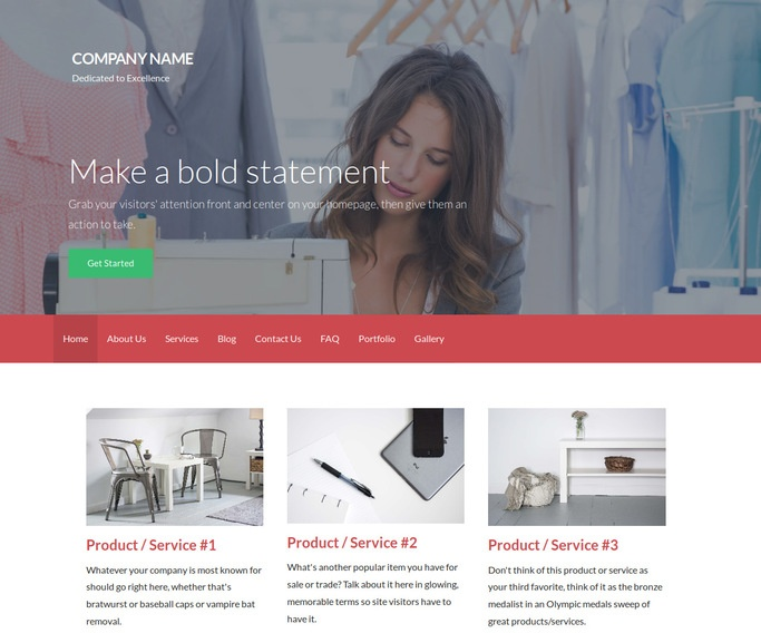 Activation Apparel Manufacturer WordPress Theme