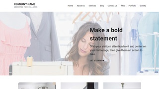 Mins Apparel Manufacturer WordPress Theme