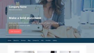 Primer Apparel Manufacturer WordPress Theme