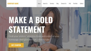 Stout Apparel Manufacturer WordPress Theme