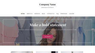 Uptown Style Apparel Manufacturer WordPress Theme