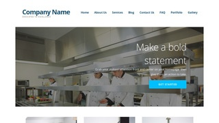 Ascension Restaurant Services WordPress Theme