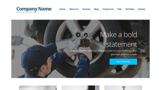 Ascension Tire Manufacturer WordPress Theme