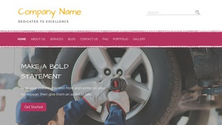 Scribbles Tire Manufacturer WordPress Theme