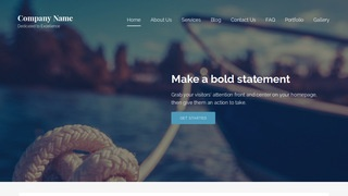 Lyrical Boating WordPress Theme