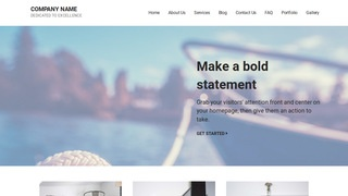Mins Boating WordPress Theme