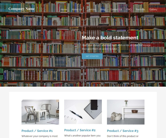 Lyrical Book Store WordPress Theme