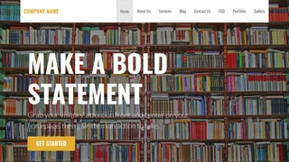 Stout Book Store WordPress Theme