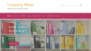 Scribbles Business Center WordPress Theme