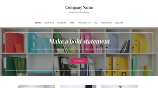 Uptown Style Business Center WordPress Theme