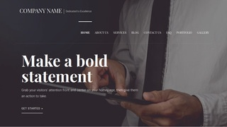 Velux Business and Management Consultant WordPress Theme