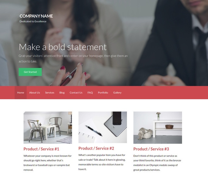 Activation Counseling WordPress Theme