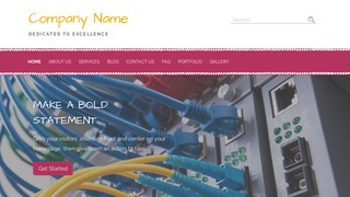 Scribbles Cable Company WordPress Theme