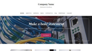 Uptown Style Cable Company WordPress Theme