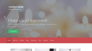 Activation Candle Store WordPress Theme