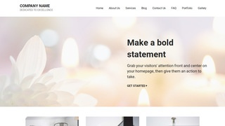 Mins Candle Store WordPress Theme