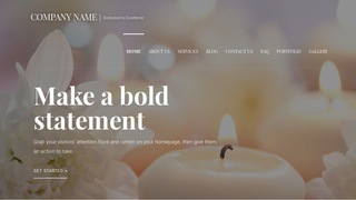 Velux Candle Store WordPress Theme