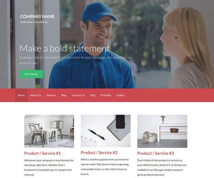 Activation Cargo and Freight WordPress Theme