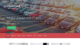 Activation Car Leasing Service WordPress Theme