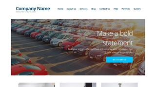 Ascension Car Leasing Service WordPress Theme