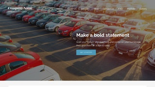 Lyrical Car Leasing Service WordPress Theme