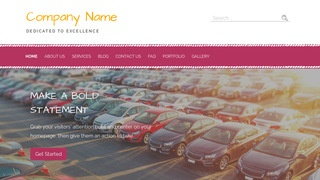 Scribbles Car Leasing Service WordPress Theme
