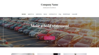 Uptown Style Car Leasing Service WordPress Theme
