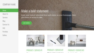 Escapade Carpet Cleaning WordPress Theme