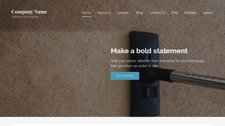 Lyrical Carpet Cleaning WordPress Theme