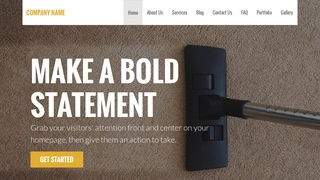 Stout Carpet Cleaning WordPress Theme