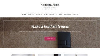 Uptown Style Carpet Cleaning WordPress Theme