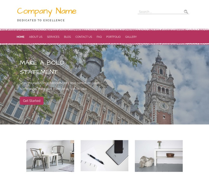Scribbles Chamber of Commerce WordPress Theme