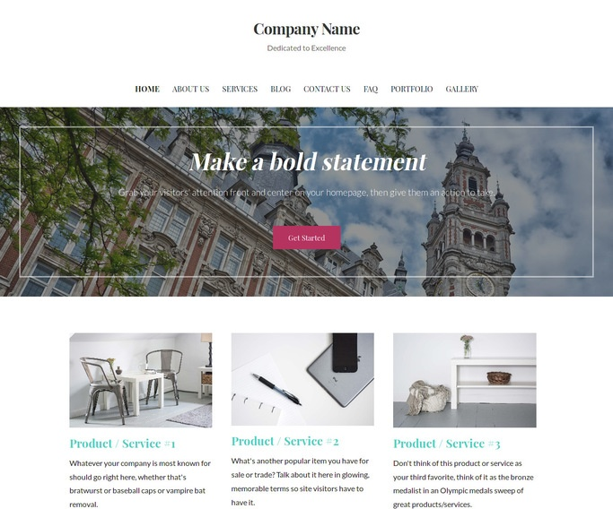 Uptown Style Chamber of Commerce WordPress Theme