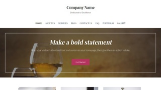 Uptown Style Cheese Shop WordPress Theme