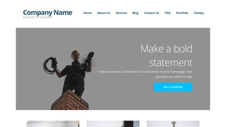 Ascension Chimney Cleaning and Repair WordPress Theme