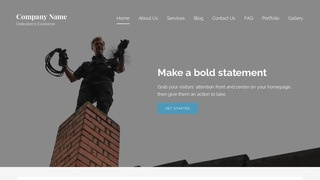 Lyrical Chimney Cleaning and Repair WordPress Theme