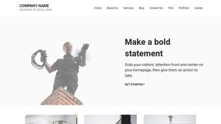 Mins Chimney Cleaning and Repair WordPress Theme