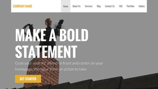 Stout Chimney Cleaning and Repair WordPress Theme