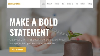 Stout Chocolatier WordPress Theme