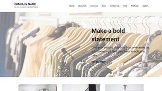Mins Clothing and Apparel Store WordPress Theme