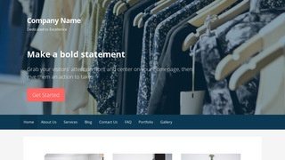 Primer Clothing and Apparel Store WordPress Theme