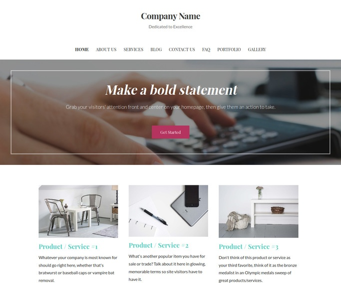 Uptown Style Coin Dealer WordPress Theme